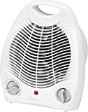 Heizlüfter Thermostat Regelbar Ventilator Heizgerät Elektroheizer 2 Heizstufen Tragegriff...